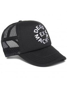 DEUS Trucker pet Circle logo - black