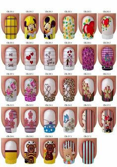 Nailart to all! Cute Nail Art, Cute Nails, Pretty Nails, Pretty Nail Designs, Nail Art Designs, Nails & Co, Nails 2017, Different Nail Designs, Disney Nails