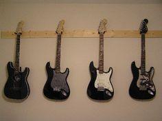 Guitar rack.