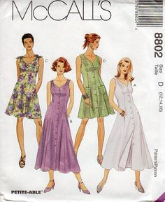 la década de 1990 las mujeres princesa costura vestido patrón