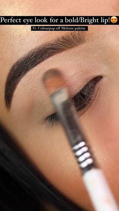 Smoky Eye Makeup, Makeup Eye Looks, Eye Makeup Steps, Beautiful Eye Makeup, Cute Makeup, Skin Makeup, Eyeshadow Makeup, Makeup Cosmetics, Makeup Inspo