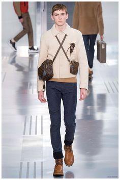 Box-väskan funkar lika bra för män -  Fall 2015 Mens Fashion Trends from Milan, New York, Paris & London Fashion Weeks