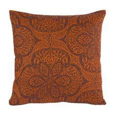 "KOKON Kissenhülle ""Serail"" Kupfer-Antrazit Leinen Fall Winter, Autumn, Cushions, Throw Pillows, Blanket, Copper, Linen Fabric, Fall, Cushion"