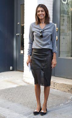 NYFW Street Style, September 9. (Credit: Raydene Salinas/HPMG)