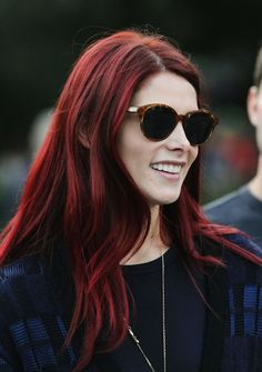 Ashley Greene is queen! (of red hair)