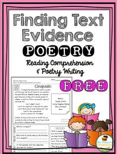 Mrs. Thompson's Treasures : How to Get Kids to Love Poetry and FREEBIE