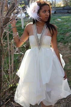 Whimsical Prom Dress.