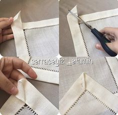 Best 11 Easy 10 Beginner sewing projects projects are readily available on our web pages. Check it out and you wont be sorry you did… Sewing Hacks, Sewing Tutorials, Sewing Crafts, Sewing Patterns, Hardanger Embroidery, Embroidery Stitches, Hand Embroidery, Techniques Couture, Sewing Techniques