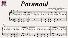 Paranoid - Black Sabbath, Piano https://youtu.be/SoLw4D4C9eM