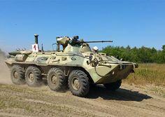 БТР-82А: истребитель танков способен «поставить на колени» целый батальон противника - Телеканал «Звезда»