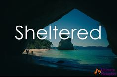 Sheltered   .life is a metaphor.