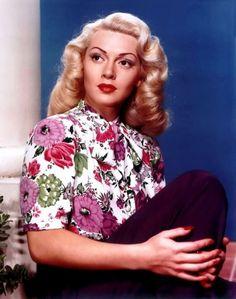 Lana Turner beauty! love the softness of her hair