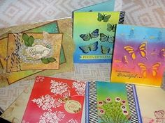 1kit and 10 more cards with LFL March 2017  card kit  - 5 Distress ink C...
