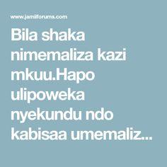 Bila shaka nimemaliza kazi mkuu.Hapo ulipoweka nyekundu ndo kabisaa umemaliza maana ndo nyumba hiyo hiyo nimecheza na pussy mbili za wadada tofauti dah. Tanzania, Massage, Therapy, Mindfulness, Counseling, Massage Therapy, Awareness Ribbons