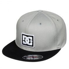 dcbdd92c3bd DC Shoes Raddest casquette flexfit monument grey