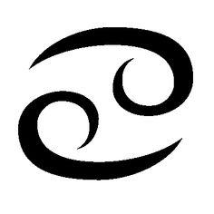 The Cancer symbol (glyph).