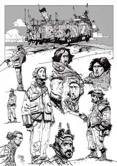 Sketchbook: Castaways.
