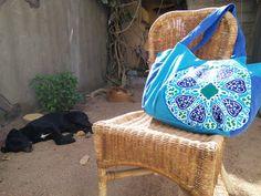 #khayamiya #khayameya inspired bag #bag #egypt #handbag #egyptiancotton Ramadan Crafts, Egyptian Cotton, Arabesque, Straw Bag, Handbags, Inspired, Diy, Design, Totes