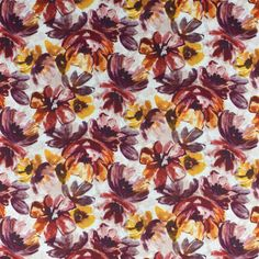 Floral Fabrics | Greenhouse Fabrics Floral Fabric, Floral Prints, Greenhouse Fabrics, Geraniums, Deco, Digital Prints, Delicate, Make It Yourself, Texture