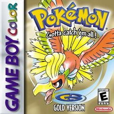 Pokémon Gold Version (Gameboy Color)