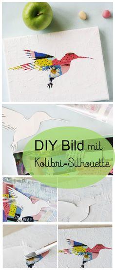 DIY Deko selber machen. Mit ein paar Tricks könnt ihr eine schöne easypeasy Wand-Deko selber machen.
