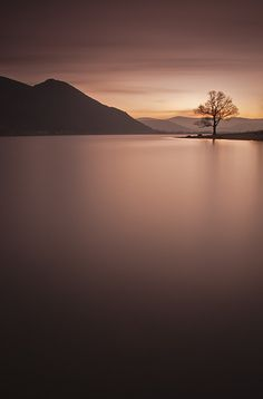 Lake Bassenthwaite, The Lake District, U.K.