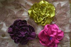 Fotos de  Prendedores de flores de tela