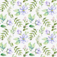 Background, pattern, nature, illustration, flowers