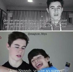 Nash and Hayes!! This is one of the reasons why I love Nash and Hayes sooo much!!