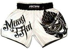 BLACK DUO /'LITE/' KICKBOXING THAI FIGHTER SHORTS Kids XS - XL Adults