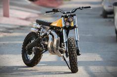 "Yamaha RD350 Scrambler ""Eight"" by Arjun Raina Moto Exotica – India"