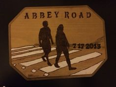 My dad and his wife went to London, England a couple of years back and are huge Beatles fans so I turned their tourist picture into a work of wood burned art! Gave it to them for Christmas