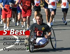 Some of our favorite military sports charities and organizations.