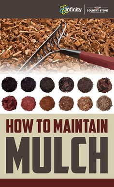 Simple steps to maintaining mulch! #mulch #maintenance