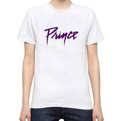 Vintage Tee Shirts New Style O-Neck Prince Purple Rain Name Rip Short-Sleeve Mens Tee Shirt