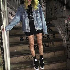 Imagine grunge, fashion, and alternative