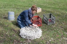 What can you make 200+ handmade porcelain coils? Sarah Blackwell experiments!