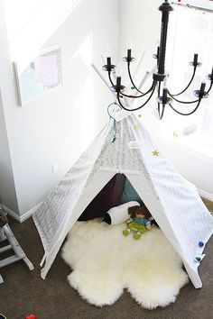 How to make your own teepee for your little one