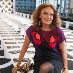 Fashion icon Diane Von Furstenberg