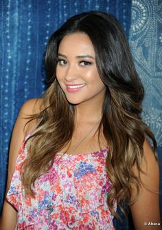 Shay Mitchell Ombre Hair-- gonna get my hair like this!