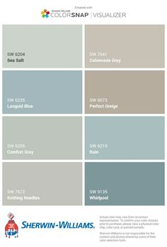 Grays Harbor Paint Color Sw 6236 By Sherwin Williams View