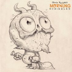 Tricking and treating... #morningscribbles | 출처: CHRIS RYNIAK
