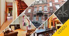 VENDU - maison de caractère au cœur de Liège! Vous avez manqué cette opportunité ? Téléphonez-nous au 04/277.17.07 et discutons de votre demande.