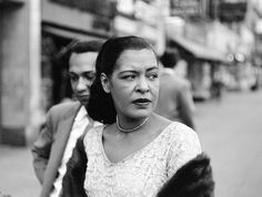 While Billie Holiday's short life was filled with hardship, Jerry Dantzic documented not the tragic torch singer of myth but a middle-aged woman finding simple comforts from the maelstrom. Billie Holiday, Blues Rock, Lady Sings The Blues, Bless The Child, Greys Anatomy Memes, Vintage Black Glamour, Nina Simone, Gone Girl, Miles Davis