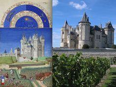 Château de Saumur in France