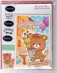 Sweet Bear Letter Set