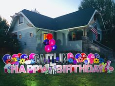 Birthday Yard Signs, Central Oregon, Special Person, Confetti, New Baby Products, Congratulations, Happy Birthday, How Are You Feeling, Cards
