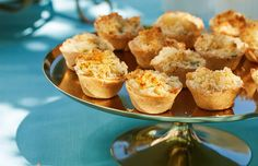 Recipe: Ruth Pretty's Little Fish Pies with Parmesan Crumble - thisNZlife Baby Muffins, Fish Pie, Baking Business, Crumble Recipe, How To Cook Fish, Little Fish, Slice Of Bread, Melted Butter, Tray Bakes