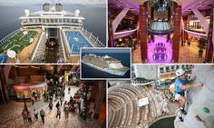 Time-lapse video shows turnaround of the world's biggest cruise ships