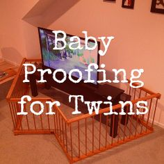 Tips for Baby Proofing for Twins: http://www.dadsguidetotwins.com/baby-proofing-for-twins-different-than-one-baby/